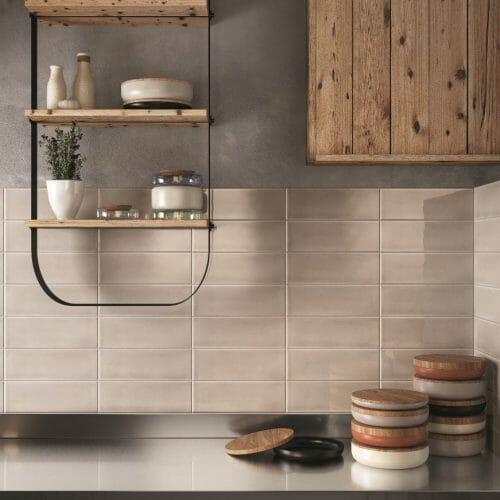 Copenhagen kitchen tile range